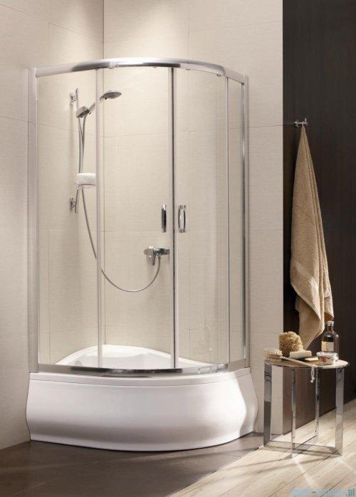 Radaway Premium Plus A Kabina półokrągła 80x80 wysokość 170cm szkło fabric