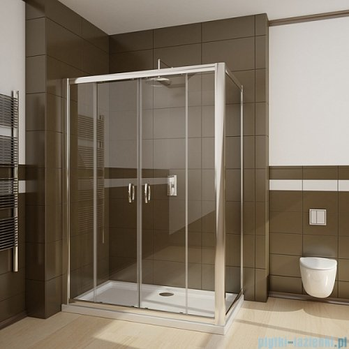 Radaway Premium Plus DWD+S kabina prysznicowa 140x75cm szkło przejrzyste