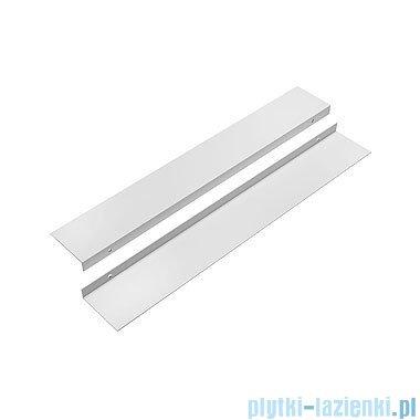 Koło Uni 2 Zestaw profili do instalacji wnękowej (frontowej) paneli biały