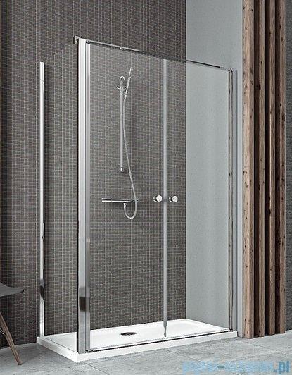 Radaway Eos II DWD+S Drzwi prysznicowe 80x197 szkło przejrzyste