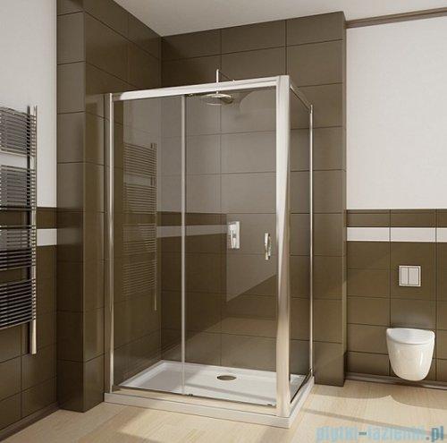 Radaway Premium Plus DWJ+S kabina prysznicowa 120x90cm szkło brązowe