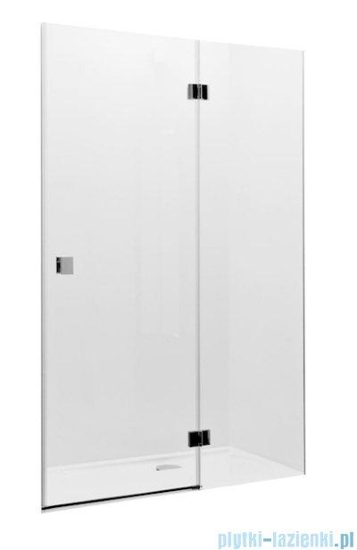 Roca Metropolis drzwi prysznicowe 120cm szkło przejrzyste