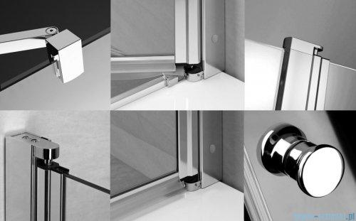 Radaway Eos II Dwd drzwi prysznicowe 160x195 W3 szkło przejrzyste 3799830-01-01/3799770-01-01