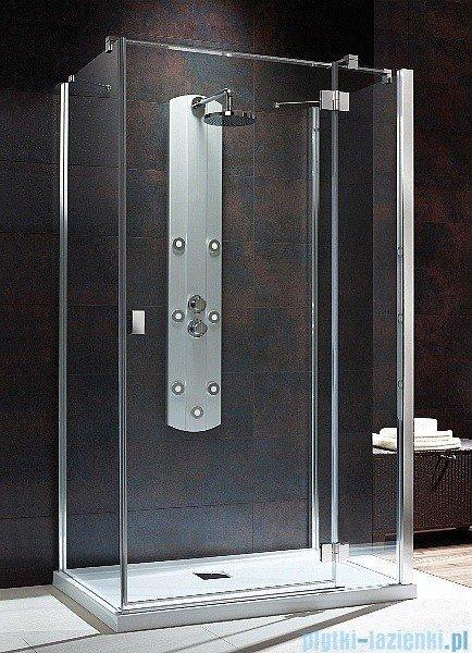 Radaway Kabina prysznicowa Essenza KDJ+S 80x90x80 prawa szkło przejrzyste + brodzik Doros D + syfon UltraClear