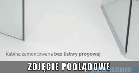 Radaway Euphoria KDJ+S Kabina przyścienna 90x100x90 prawa szkło przejrzyste bez progu