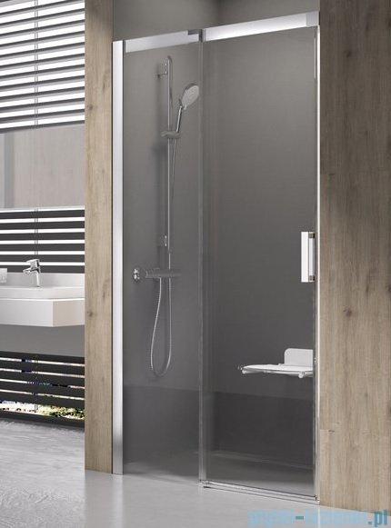 Ravak Matrix MSD2 drzwi prysznicowe 100cm lewe aluminium transparent 0WLA0C00Z1