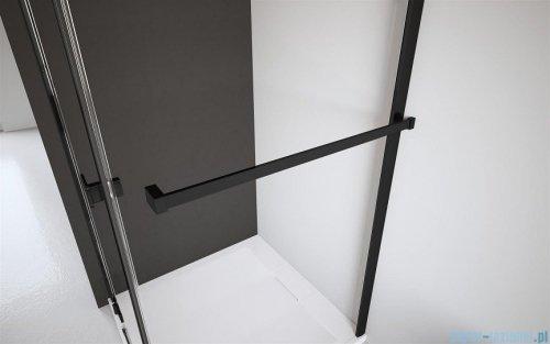 Radaway Furo Black KDJ RH kabina 100x110cm lewa szkło przejrzyste 10104492-54-01LU/10110510-01-01/10113110-01-01