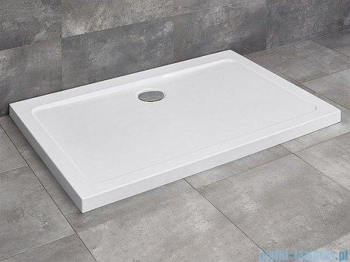 Radaway Torrenta Kdj Kabina prysznicowa 80x100 lewa szkło przejrzyste + brodzik Doros D + syfon 32250-01-01NL