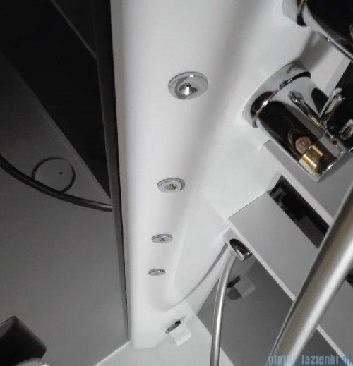 Novellini Glax 2 2.0 kabina z hydromasażem 100x80 prawa total biała G22A198DM1-1UU
