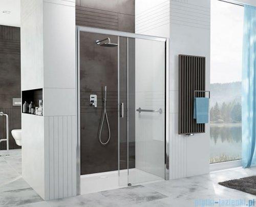 Sanplast Free Zone drzwi przesuwne D2P/FREEZONE 120x190 cm prawa przejrzyste 600-271-3160-38-401