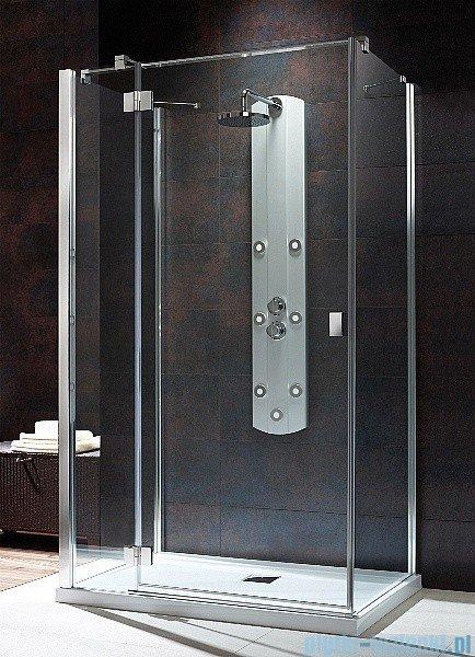 Radaway Kabina prysznicowa Essenza KDJ+S 90x120x90 lewa szkło przejrzyste + brodzik Doros D + syfon