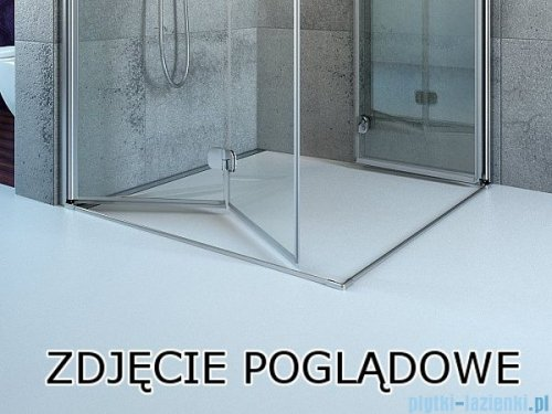 Radaway Eos DWB Drzwi wnękowe 90 prawe szkło intimato 37803-01-12NR