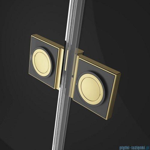 Radaway Essenza Pro Gold Kdj kabina 110x80cm lewa przejrzyste 10097110-09-01L/10098080-01-01