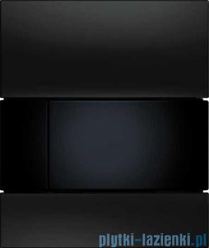 Tece Square przycisk do pisuaru szkło czarne, przycisk czarny 9.242.809
