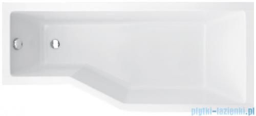 Besco Integra 150x75cm wanna asymetryczna prawa + obudowa + syfon #WAI-150-PP/#OAI-150-NS/19975