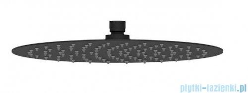 Oltens Vindel deszczownica 30 cm czarny mat 37000300