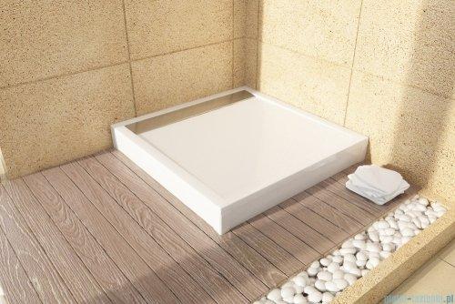SanSwiss Ila WIQ Brodzik kwadratowy 100x100cm kolor biały/połysk WIQ1005004