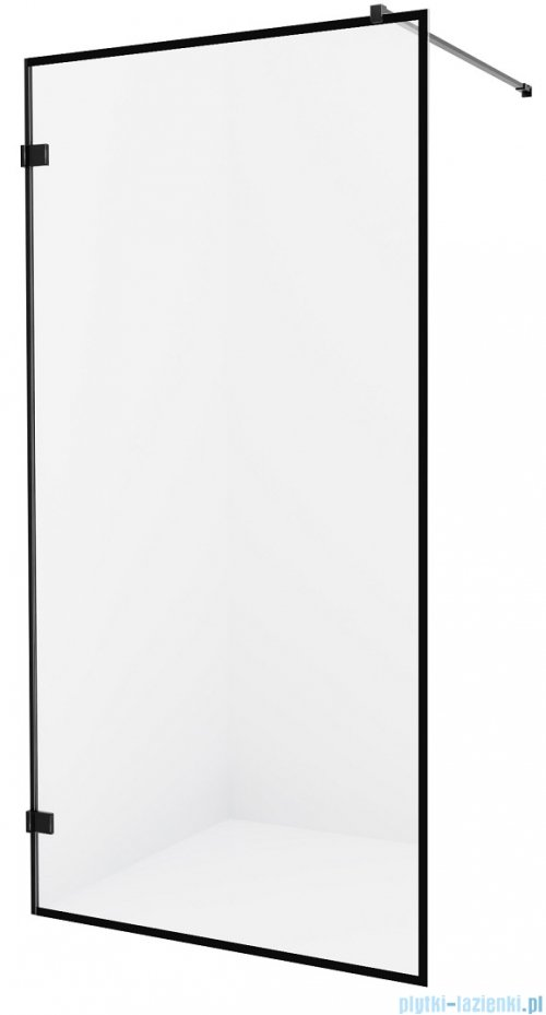 New Trendy Avexa Black kabina Walk-In 120x200 cm przejrzyste EXK-2053