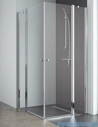 Radaway Eos II KDD kabina prysznicowa 90x80 szkło przejrzyste