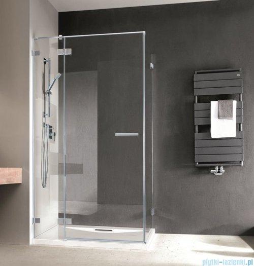 Radaway Euphoria KDJ Kabina prysznicowa 90x80 lewa szkło przejrzyste + brodzik Argos D + syfon