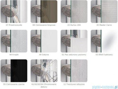 SanSwiss PUR PU31 Drzwi prawe wymiary specjalne do 160cm efekt lustrzany PU31DSM21053