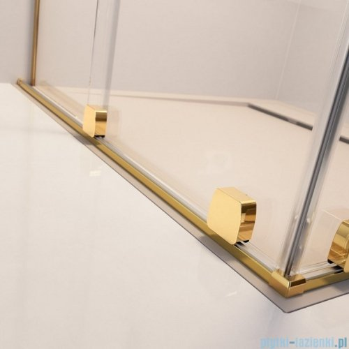 Radaway Furo Gold KDD kabina 120x100cm szkło przejrzyste 10105120-09-01L/10105100-09-01R