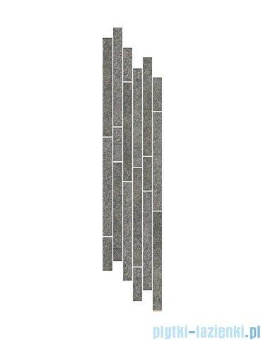 Paradyż Flash grafit mix paski listwa 14,8x71