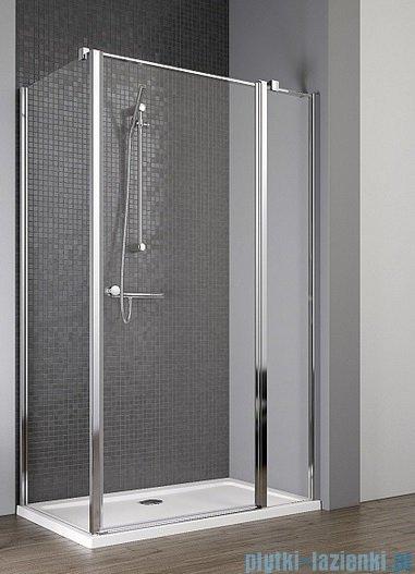 Radaway Eos II KDJ kabina prysznicowa 100x100 prawa szkło przejrzyste + brodzik Delos C + syfon