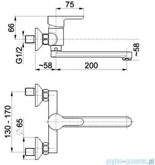 KFA Granat bateria zlewozmywakowa, kolor chrom 5520-910-00