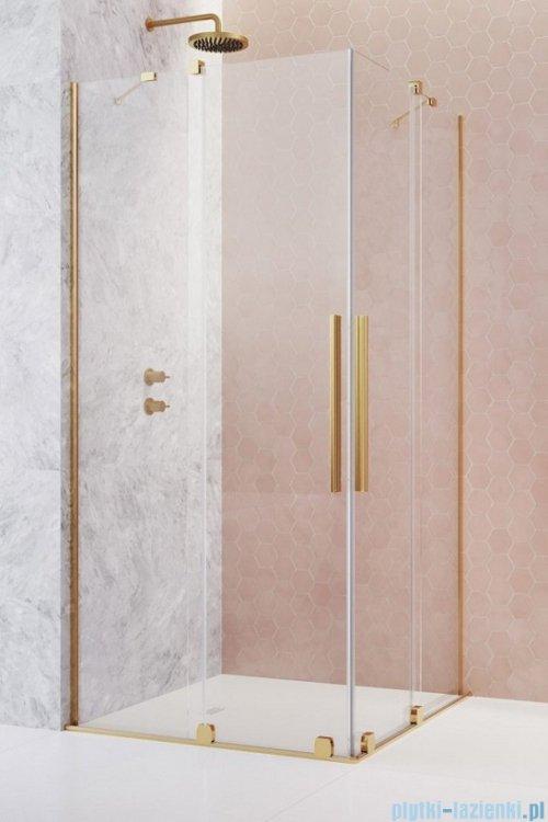 Radaway Furo Gold KDD kabina 80x100cm szkło przejrzyste 10105080-09-01L/10105100-09-01R