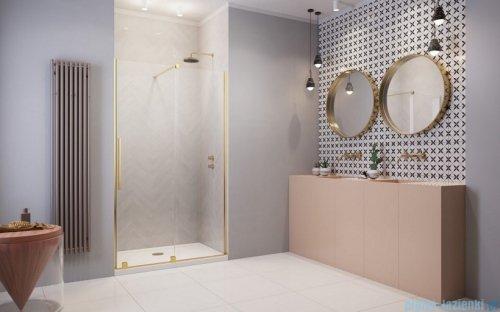 Radaway Furo Gold DWJ drzwi prysznicowe 120cm prawe szkło przejrzyste 10107622-09-01R/10110580-01-01