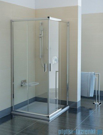 Ravak Kabina prysznicowa Blix BLRV2 kwadratowa 80x80 białe transparent Anticalc 1LV40100Z1