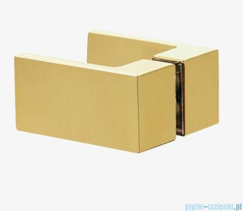 New Trendy Avexa Gold kabina prostokątna 90x80x200 cm przejrzyste EXK-1780