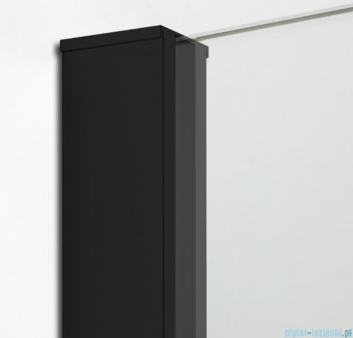 New Trendy New Modus Black kabina Walk-In 130x70x200 cm przejrzyste EXK-0069/EXK-0090