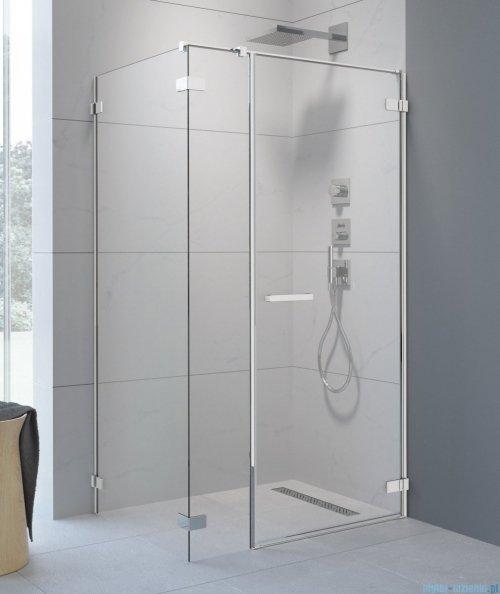 Radaway Arta Kds I kabina 120x80cm prawa szkło przejrzyste + brodzik Doros D + syfon