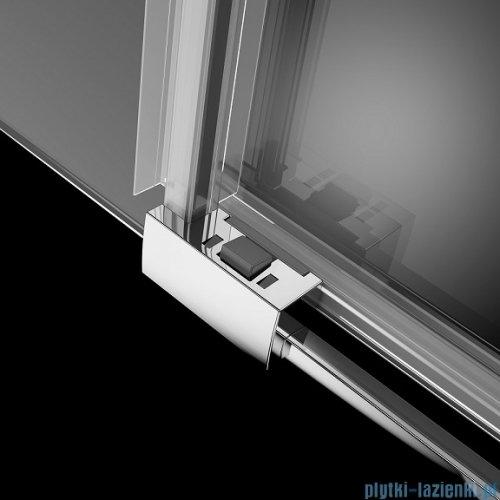 Radaway Idea Kdj kabina 100x90cm prawa szkło przejrzyste + brodzik Doros D + syfon