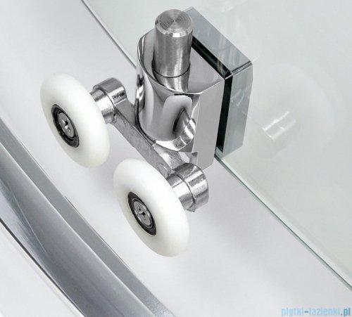 New Trendy New Varia kabina półokrągła 90x90x190 cm grafit K-0498
