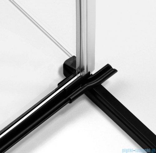 New Trendy Avexa Black kabina prostokątna 90x70x200 cm przejrzyste prawa EXK-1573