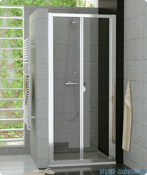 SanSwiss Top-Line Drzwi 2-częściowe 100cm profil połysk TOPK10005007