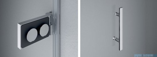 SanSwiss Pur PU31P Drzwi lewe wymiary specjalne do 160cm satyna PU31PGSM21049