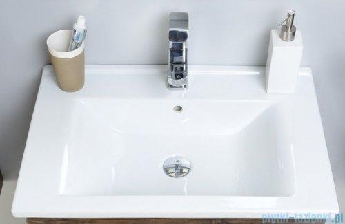 Antado Spektra ceramic szafka z umywalką 2 szuflady 82x43x50 dąb samba 670822/667556