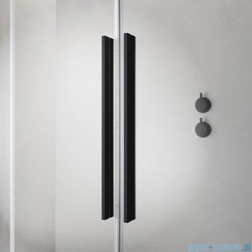 Radaway Furo Black DWJ drzwi prysznicowe 150cm prawe szkło przejrzyste 10107772-54-01R/10110730-01-01