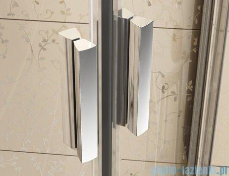 Ravak Blix BLDP4 drzwi prysznicowe 200cm białe transparent Anticalc 0YVK0100Z1