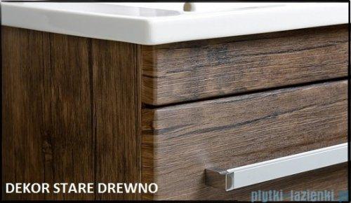 Antado Spektra ceramic szafka z umywalką 2 szuflady 82x43x50 stare drewno 670808/667556