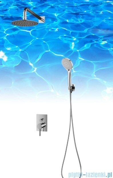 Omnires Y podtynkowy zestaw prysznicowy chrom SYSY23/KCR