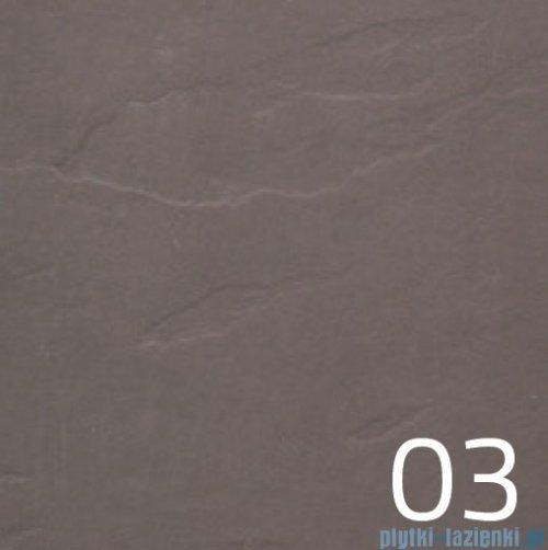 Vayer Citizen Leo lewa 121x50cm umywalka strukturalna matowa kolor 03