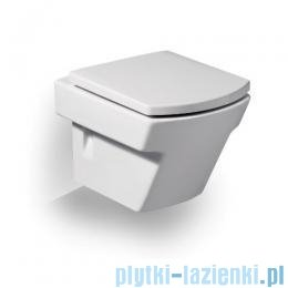 Roca Hall Compacto Miska Wc podwieszana biała powłoka Maxi Clean