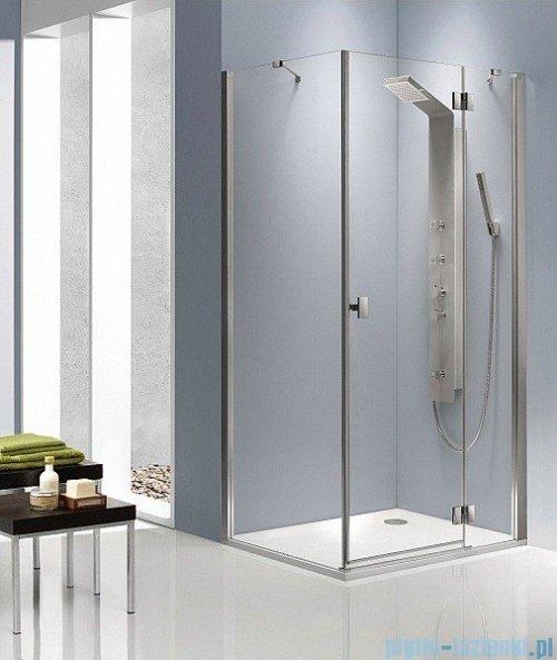Radaway Kabina prysznicowa Essenza KDJ 120x80 prawa szkło brązowe montaż na posadzce