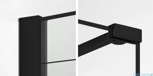New Trendy New Modus Black Walk-In 140x90x200cm przejrzyste EXK-0110