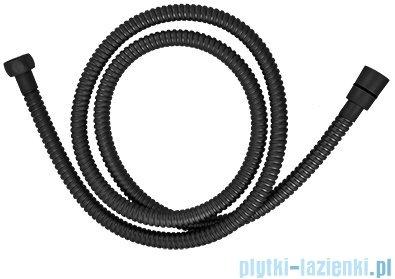 Omnires wąż prysznicowy 150 cm czarny mat 029BL